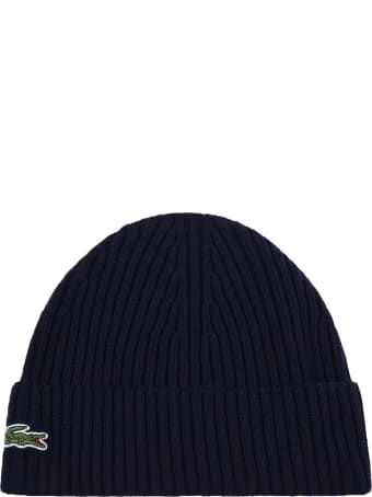 Lacoste Blue Hat For Kids