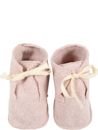 Le Petit Coco Pink Shoes For Baby Girl