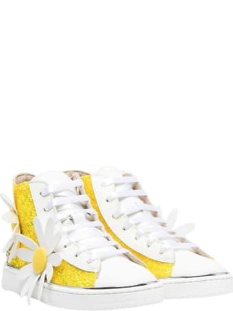 Florens Florens Yellow Sneakers