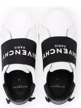 Givenchy Leather Sneakers With Logo Band