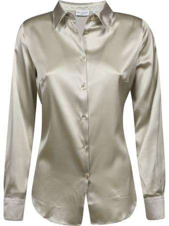 Eddy Monetti Plain Silk Shirt