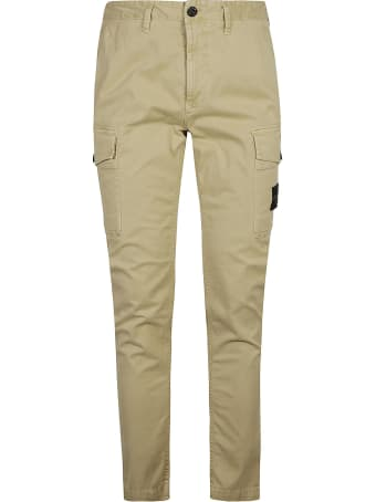 Stone Island Regular Fit Plain Cargo Pants