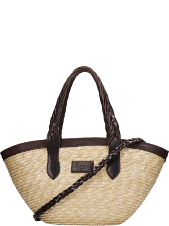 Kate Cate Tote In White Silver