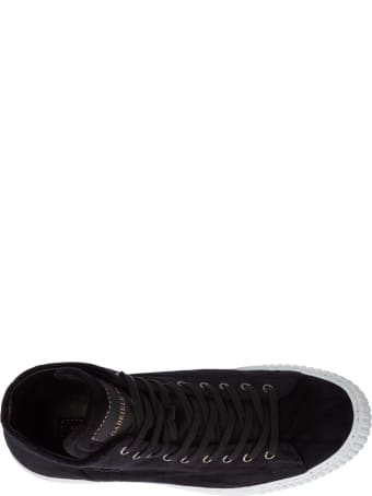 Gabriele Pasini Band Logo High-top Sneakers