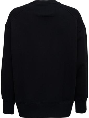 Givenchy Black Jersey Sweatshirt With Logo Print