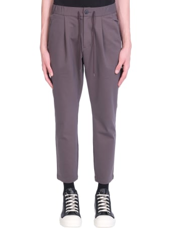 Attachment Pants In Brown Cotton