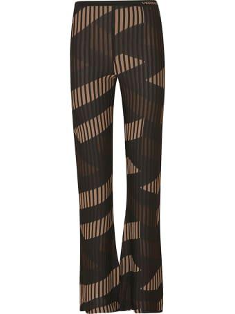 Versace Ribbed Knit Skirt