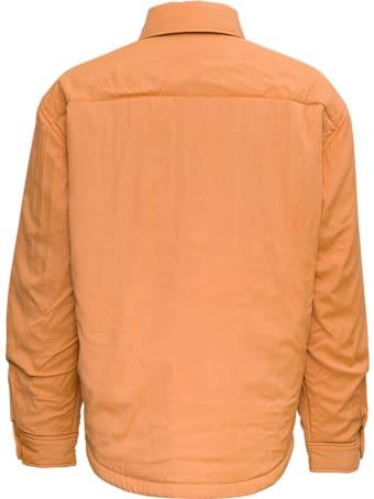 Jacquemus La Chemise Boulanger  Orange Viscose Jacket