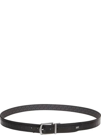 Michael Kors 34mm Ctfr Dress Belt