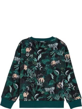 Kenzo Kids Cotton Floral Sweatshirt