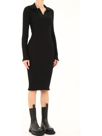 Bottega Veneta Black Stretch Dress