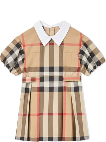 Burberry Archive Beige Cotton Check Dress