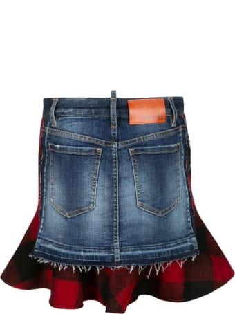 Dsquared2 Side Pocket Skirt