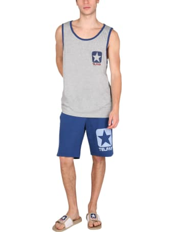 Telfar Cotton Sweat Shorts Bermuda