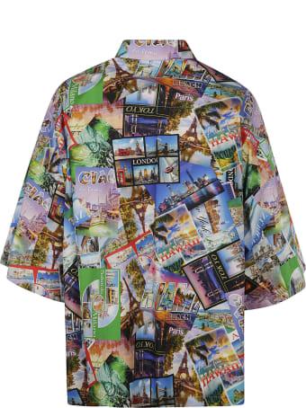 Balenciaga Photo All-over Print Shirt