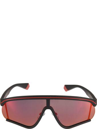 MSGM Polaroid Logo Sunglasses