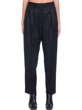 A.P.C. Cheryl Pants In Black Wool