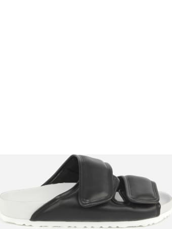 Birkenstock Cozy Sandals In Smooth Padded Leather