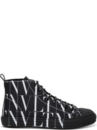 Valentino Garavani Vltn Times Black Sneakers
