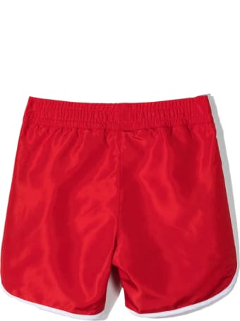 Givenchy Red Swim Shorts