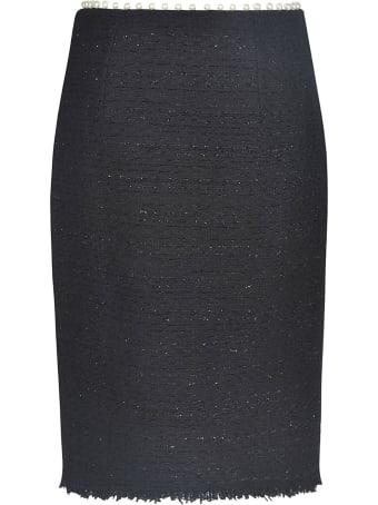 Giambattista Valli Pearl Embellished Pencil Skirt