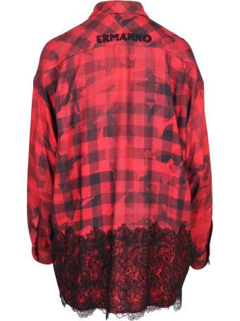 Ermanno Firenze Oversize Rayon Shirt