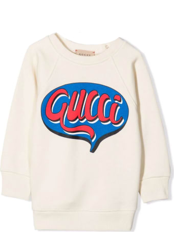 Gucci Baby Gucci Comics Cotton Sweatshirt