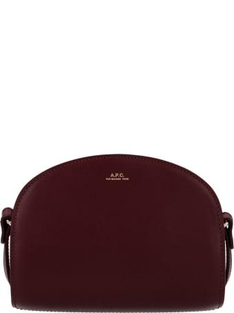 A.P.C. 'sac Demi Lune Mini' Bag