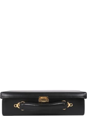 Mark Cross Black Grace Lungo Box Bag