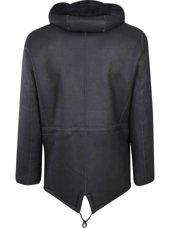 S.W.O.R.D 6.6.44 Fur Trim Hooded Zip Jacket
