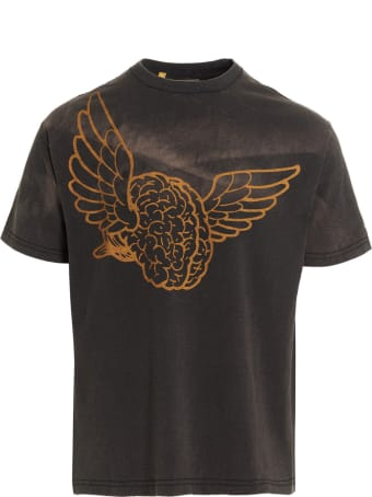 Gallery Dept. 'big Flying Brain' T-shirt