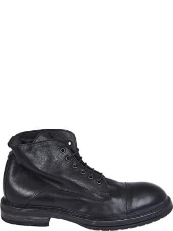 Moma Black Ankle Shoe