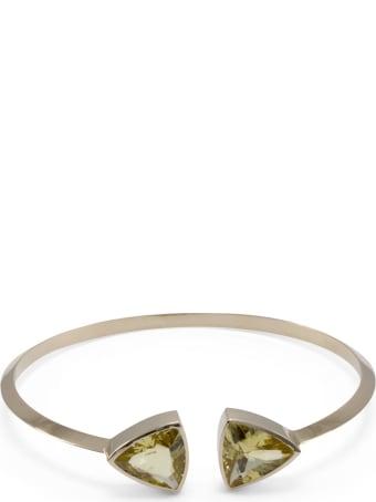 Lo Spazio Jewelry Lo Spazio Yellow Beryl Bangle