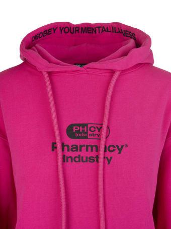 Pharmacy Industry Fuchsia Woman Hoodie With Logo