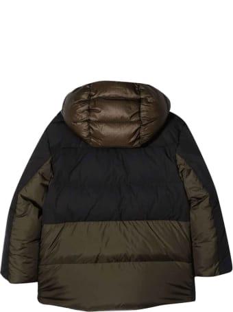 Moncler Black / Green Jacket Unisex