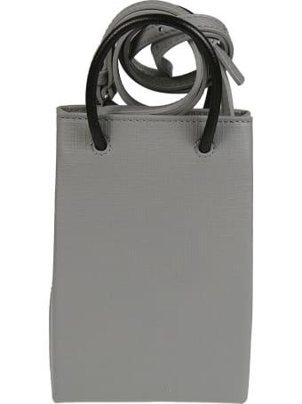 Balenciaga Logo Print Shopping Phone Holder