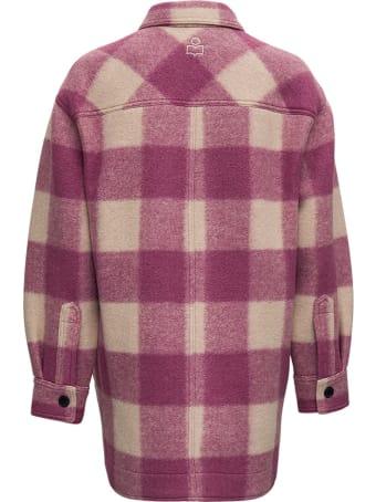 Isabel Marant Étoile Harveli Check Jacket In Wool Blend