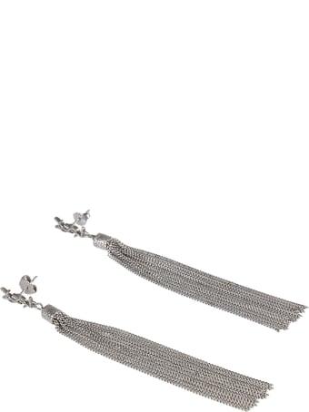 Saint Laurent Loulou Chain Earrings