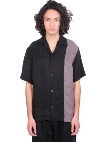 Attachment Shirt In Black Polyester