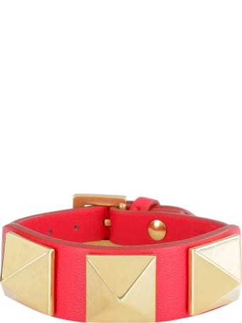 Valentino Leather Bracelet - Valentino Garavani