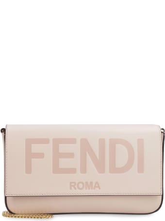 Fendi Leather Wallet On Chain