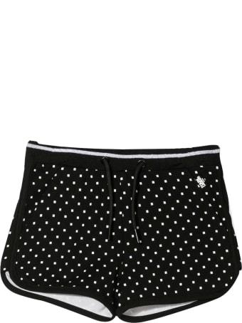 Karl Lagerfeld Kids Polka Dot Sports Trousers