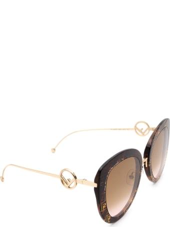 Fendi Fendi  Ff 0409/s Dark Havana Sunglasses
