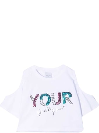Gaelle Bonheur Teen T-shirt With Sequins