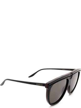 Gucci Gucci Gg0732s Black Sunglasses