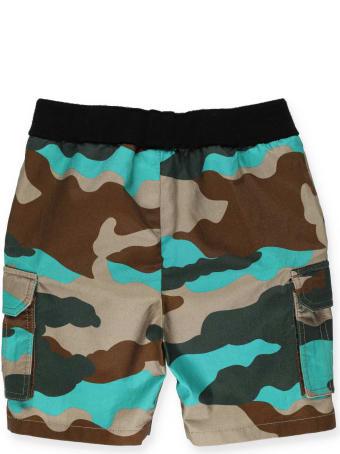 Moncler Camouflage Bermuda Short