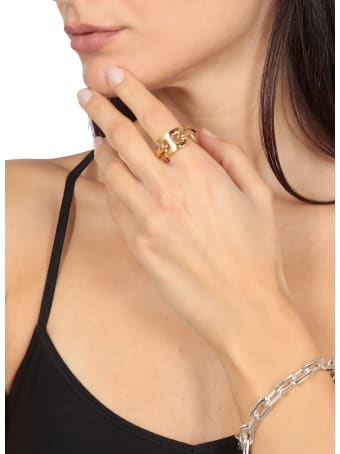 AMBUSH Golden Rilver Ring