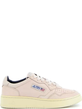Autry Sneakers Leather Crack