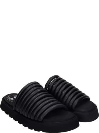 Bruno Bordese Rin Flats In Black Leather