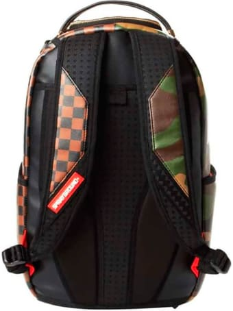Sprayground Checks & Camouflage Backpack